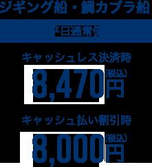 ジギング船・鯛カブラ船平日通常便7,300円